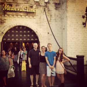 Medieval Time at Kissimmee - August 2012