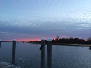 Montauk Marina and Yacht Club sunset