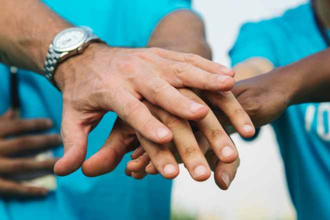 achievement blur charity collaboration